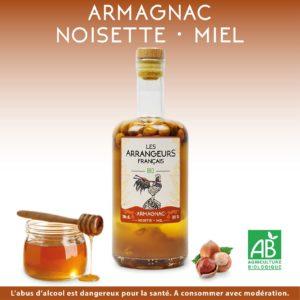 Armagnac Arrangé Noisette Miel Les Arrangeurs Français
