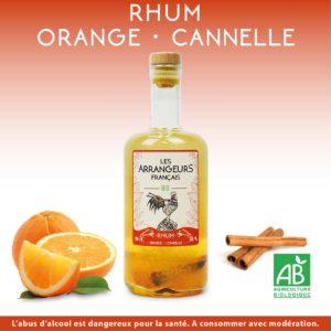 Rhum Arrangé Orange Cannelle Les Arrangeurs Français