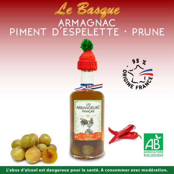 Armagnac Arrangé Piment Prune Les Arrangeurs Français