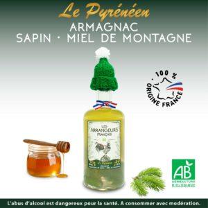 Armagnac Arrangé Sapin Miel Les Arrangeurs Français