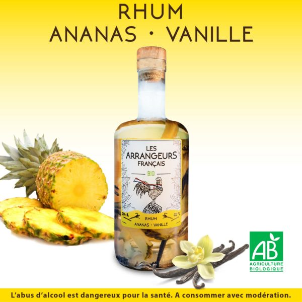 Rhum Arrangé Ananas Vanille Les Arrangeurs Français