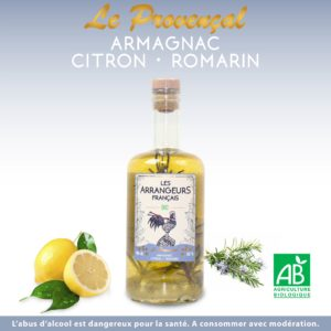Armagnac Arrangé Citron Romarin Les Arrangeurs Français