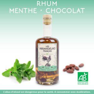 Rhum Arrangé Menthe Chocolat Les Arrangeurs Français